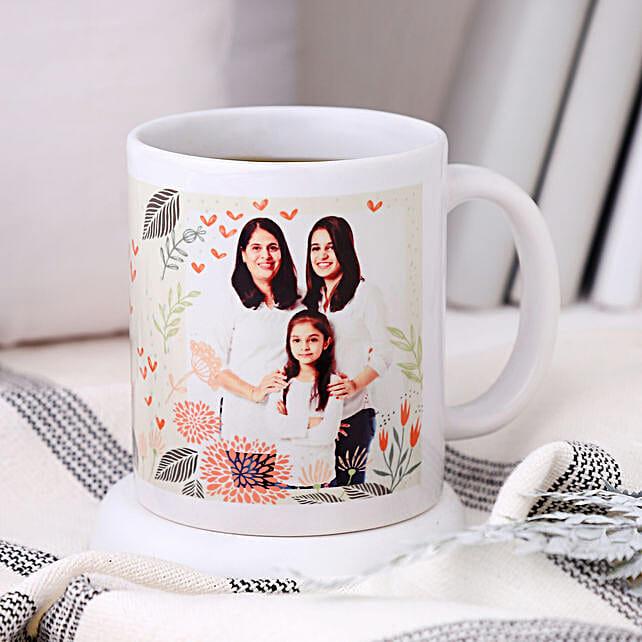 Personalised Woman Power Photo Mug: Return Gifts