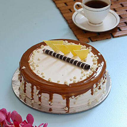 Caramel Cream Cake: Uncle