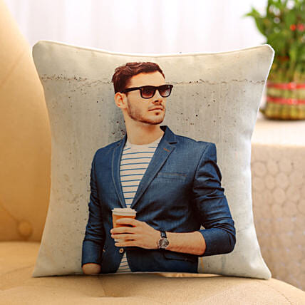 Personalised Special Cushion For Him: Bhai Phota Gifts for Brother