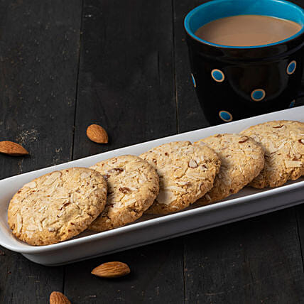 Almond Cookies Box: Gourmet Gifts India