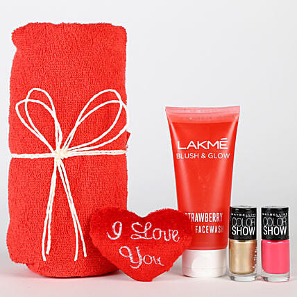 Magical Of Womanhood Hamper: Valentines Day Gift Hampers