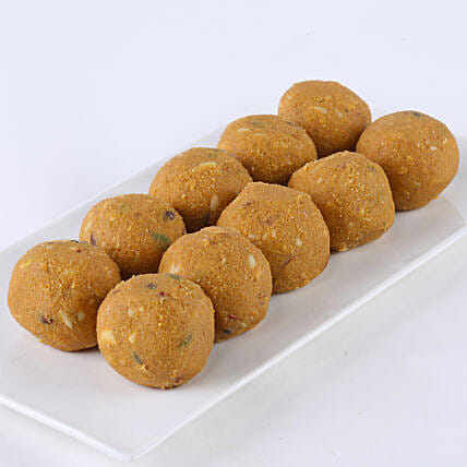 Besan Laddu Appeal: Sweets Delivery