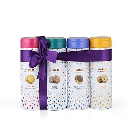 Cookie Combo Tin Pack: Gourmet Gifts India