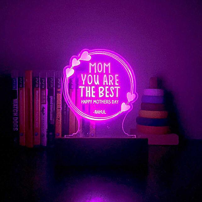 Best Mom Personalised Night Lamp: Personalised Lamps