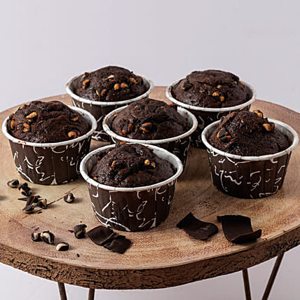 Yummy Oreo Chocolate Muffin- 500 gms: Cup Cakes to Ghaziabad