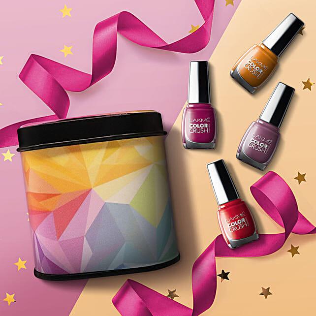 Lakme Color Crush Nail Paint Box: