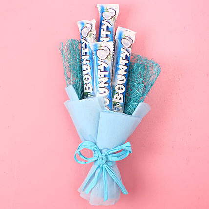 Bounty Chocolate Bouquet: Send Chocolate Bouquet