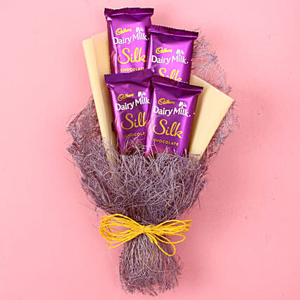 Dairy Milk Silk Chocolate Bouquet: Gift Ideas