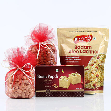Gift Of Variety: Send Bhai Dooj Gift Hampers
