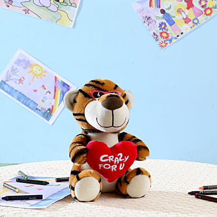 Brown Crazy For You Tiger: Soft Toys Gifts