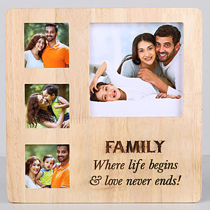 Perfect Family Personalised Photo Frame: Personalised Photo Frames