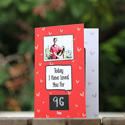 Personalised Love Milestone Card: Funny Gifts
