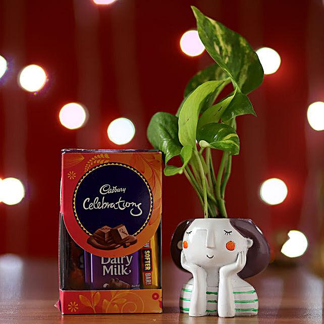 Money Plant & Cadbury Celebrations: