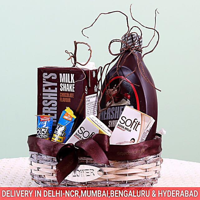 Assorted Goodies Hershey's Gift Basket: Doctors Day Gift Hampers