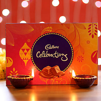 Cadbury Celebrations Box & Diyas: