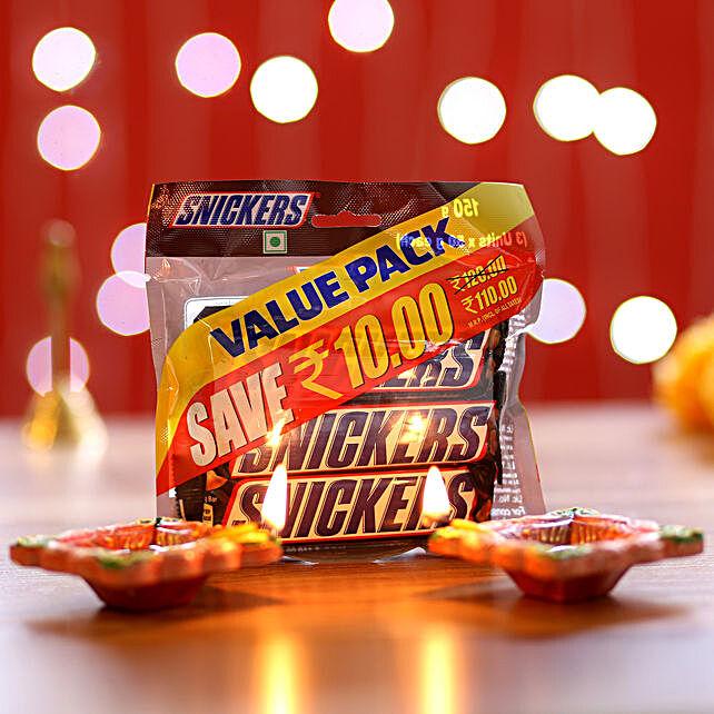 Snickers Pack & Diyas: Diyas