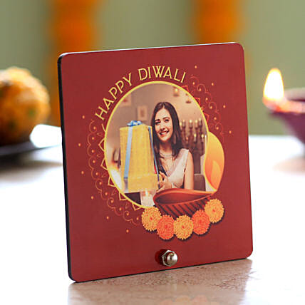 Personalised Picture Diwali Table Top: Personalized Diwali Gifts