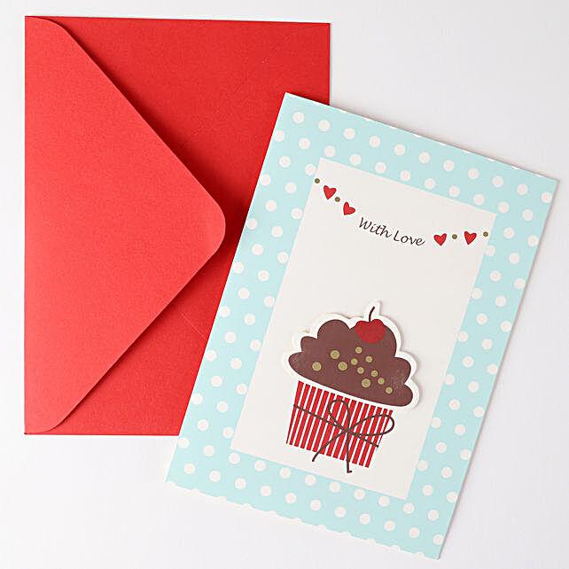Cupcake Birthday Greeting Card: Buy Greeting Cards
