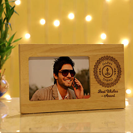 Best Diwali Wishes Personalised Photo Frame: Personalised Photo Frames