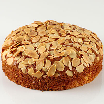 Delicious Almond Dry Cake- 500 gms: Send Plum Cakes