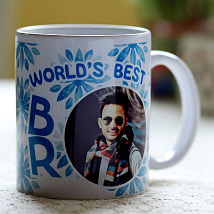 Personalised Best Bro Mug: Personalised Mugs for Bhai Dooj