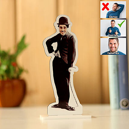 Personalised Charlie Chaplin Caricature: Send Caricatures