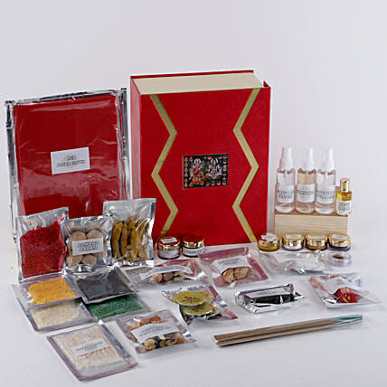 Complete Pooja Box: Send Diwali Gifts for Parents