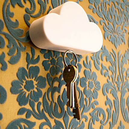 Magnetic Cloud Key Holder: Unusual Gifts
