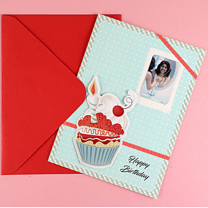 Big Cup cake Birthday Greeting Card: Buy Greeting Cards