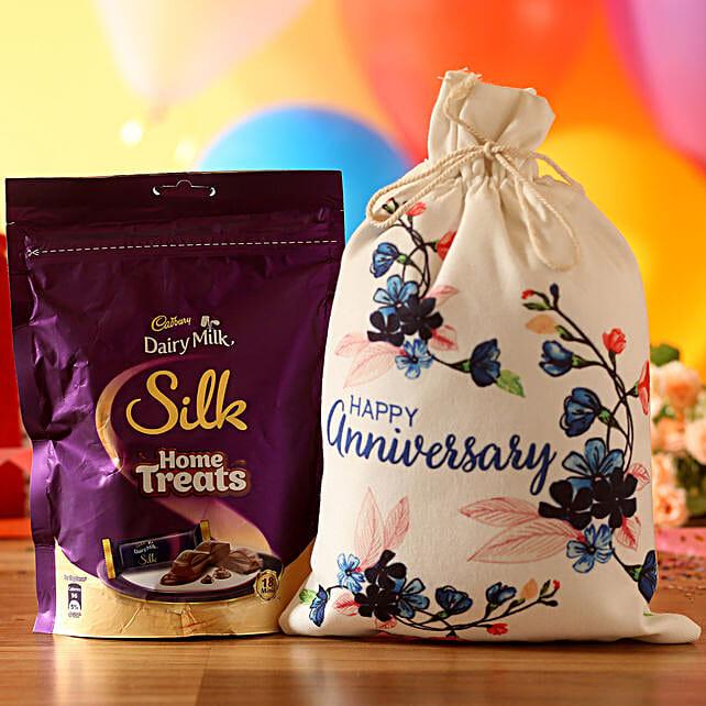 Anniversary Wishes Silk Treats: