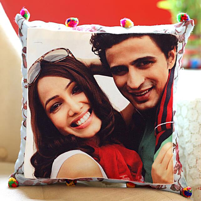 Personalised Pom Pom Cushion Cover: Personalised Cushions