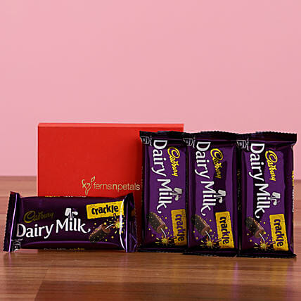 Dairy Milk Crackle Box: Cadbury Chocolates