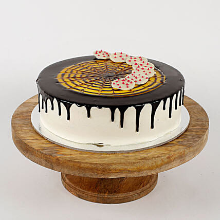 White Choco Coin Cream Cake: Send Black Forest Cakes