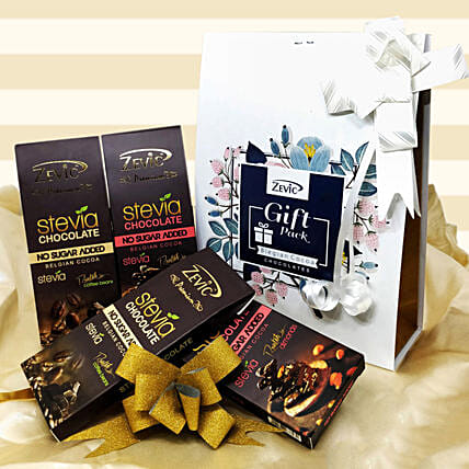 Zevic Dark Chocolate Gift Pack: Chocolate Gifts in India