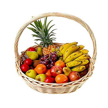Basket Of Fresh Fruits: Christmas Gift Delivery in Mauritius