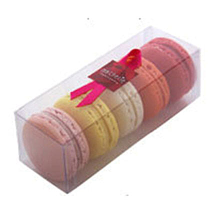 Sweet French Macarons: Rakhi Gifts For Sister in New Zealand