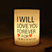 Love You Forever Candle