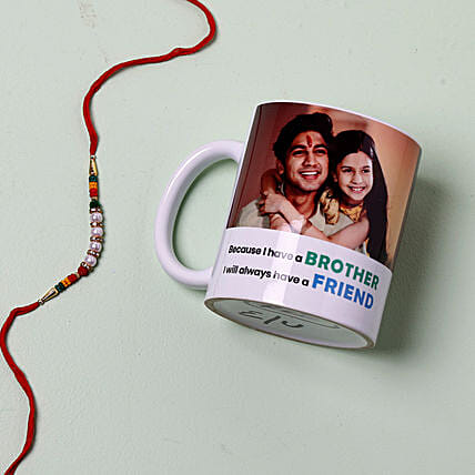 Fancy Rakhi And Personalised Photo Mug: All Rakhi Singapore