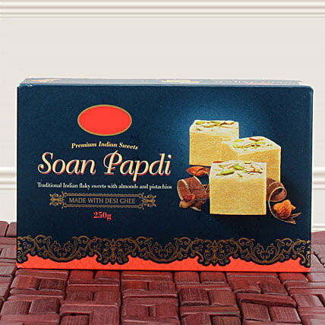 Soan Papdi Greetings: Bhai Dooj Gift Delivery in Singapore