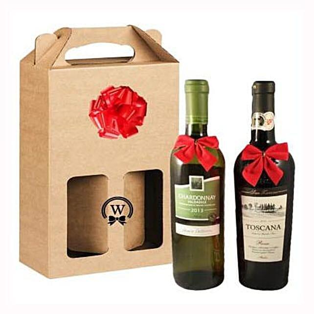 Classic Dual Italian Wines: Rakhi Delivery in Switzerland