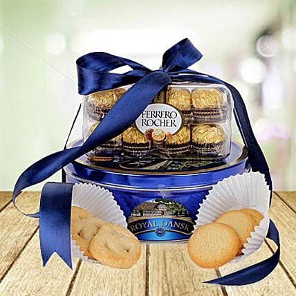 Choco Cookie Delight: Bhai Dooj Gift Delivery in UAE