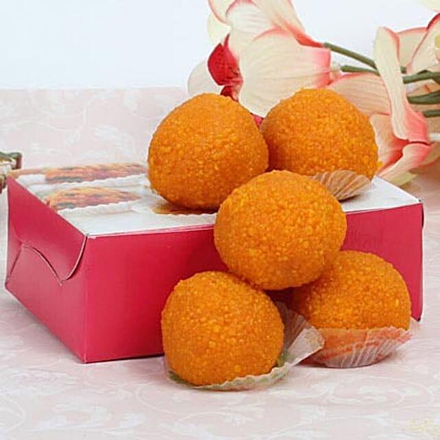 Motichoor Laddoo Box: Send Bhai Dooj Gifts to UAE