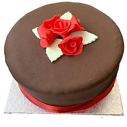 Chocolate Rose Cake Birthday Delivery In UK