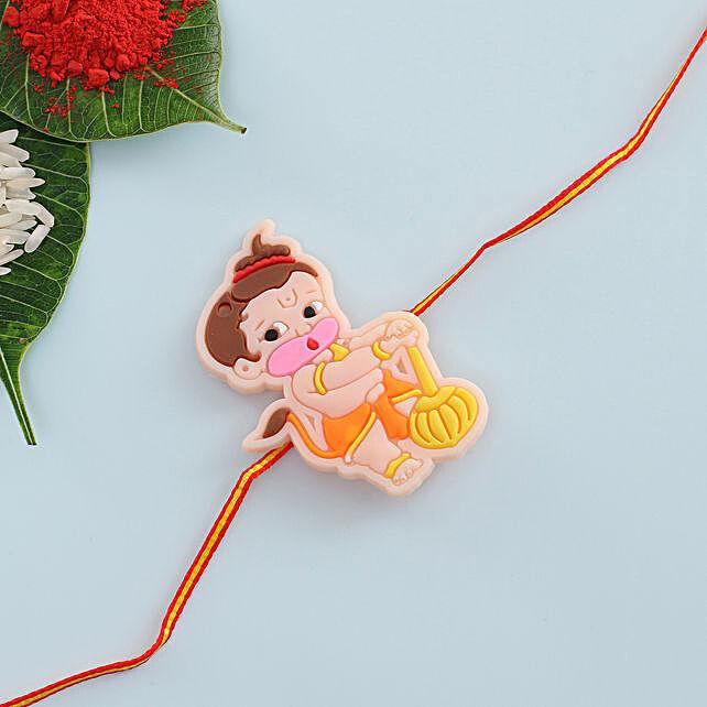 Chota Hanuman Kids Rakhi: Cartoon Rakhi Delivery in UK