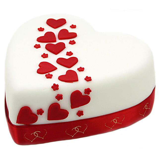 Hearts And Stars Cake Birthday Cakes To UK