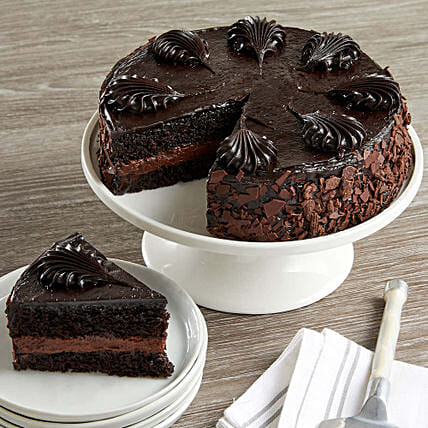 Chocolate Mousse Torte Cake Send Cakes To USA