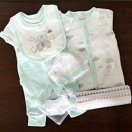 Welcome Baby Gift Set: Send Newborn Baby Gifts to USA