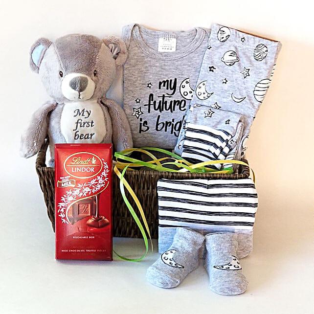 Baby Essentials Infant Boys Gift Set: