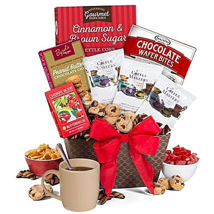 Coffee Time Gift Basket: