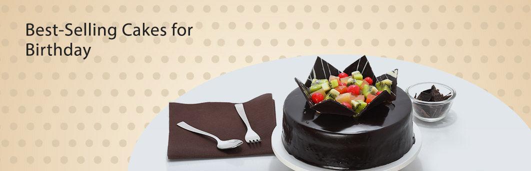 Birthday Bestsellers for Cakes